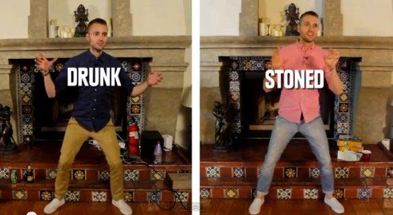 Drunk V Stoned