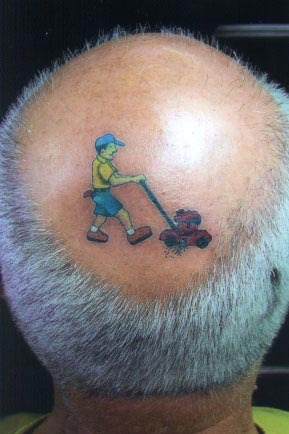 head tattoo 2