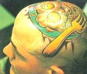 head tattoo 4